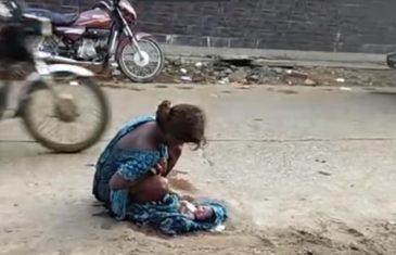 Odbili su je primiti u bolnicu: Maloljetnica je rodila na cesti… VIDEO