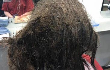 ZBOG DEPRESIJE nije izlazila iz SVOJE SOBE: Otišla je kod frizerke da se ošiša na ćelavo, a ona joj je promijenila život!