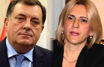 DODIK – CVIJANOVIĆ, SMETNJE NA VEZAMA: Predsjednica RS Željka Cvijanović ne želi biti DODIKOV FIKUS, poput Brnabićke u Srbiji, ali ne može ni…