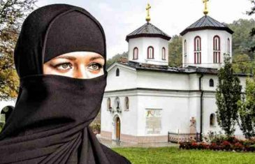 MUSLIMANKA ŽELJELA PRENOĆITI U SRBIJI U PORTI PRAVOSLAVNOG MANASTIRA: Nije mogla vjerovati šta su joj rekli na vratima!