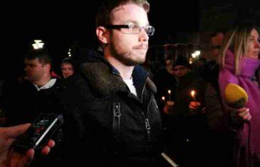 Nakon što se pojavio pred hramom Hrista Spasitelja, Stanivuković uhapšen