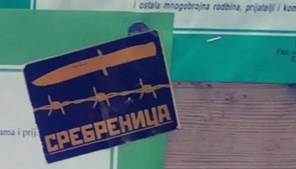 """Povratnici uznemireni: U Zvorniku srušeni nišani, u Bijeljini pred džamijom letci """"nož, žica, Srebrenica"""""""