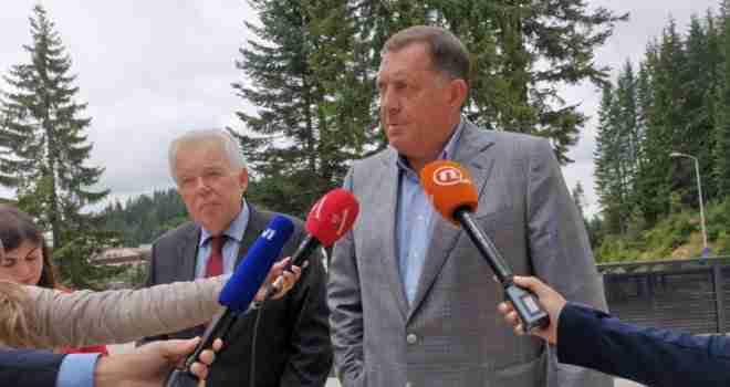 Ivancov: Rusija je ozbiljno zabrinuta za situaciju u BiH; Dodik: ANP je izmislila bošnjačka elita
