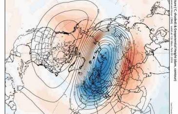 UOČEN RIJEDAK METEOROLOŠKI FENOMEN koji bi u naše krajeve u idućih 14 dana mogao donijeti još veće hladnoće!?
