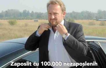 Zašto Bakir Izetbegović nikad neće zaposliti 100.000 nezaposlenih?