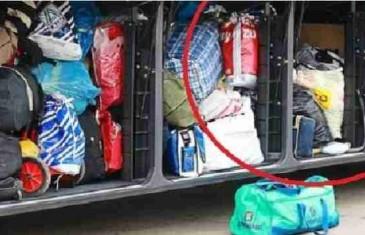 FOTOGRAFIJA IZAZVALA BROJNE KOMENTARE: Nećete vjerovati šta je Pazarac natovario na autobus za Frankfurt!