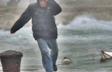 IZDATO NARANŽASTO UPOZORENJE ZA NAŠU ZEMLJU: Olujni udari vjetra