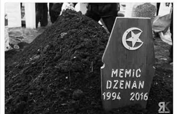 """PROČITAJTE ŠTA SU DŽENANOVI DRUGOVI na dan dženaze poručili """"katilu"""" ovog divnog mladića!"""