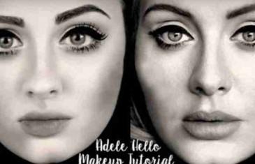 Našminkajte se kao Adele: Za samo nekoliko minuta do savršenog izgleda (VIDEO)