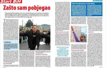 Glas javnosti: Bojan Svrdlin, bh. demonstrant koji trenutno čeka azil u Austriji