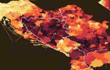 Ovo su crne rupe zapadnog Balkana: Na mapi nezaposlenosti, evo gdje se nalazi BiH