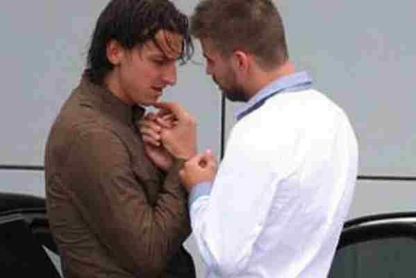 Pique konačno progovorio o spornoj fotografiji sa Ibrahimovićem!