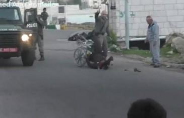 Izraelski graničar oborio Palestinca u invalidskim kolicima