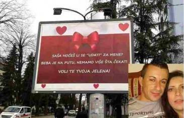 """EVO ŠTA JOJ JE REKAO MOMAK: Nakon što mu je plakatom usred grada poručila da je trudna i se on treba """"udati"""" za nju!"""