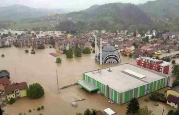 Prijete li nam to nove poplave? Najkritičnije bi moglo biti u ponedjeljak i utorak