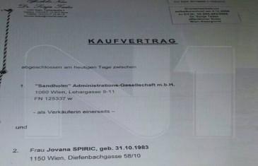 Špirić stan za kćerku u Beču platio 397.000 eura!