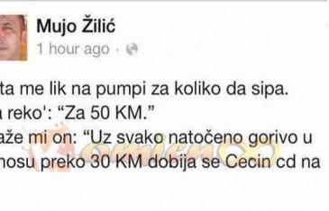 Status ovog čovjeka koji je objavio na Facebooku nasmijao je čitav region!