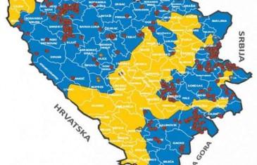 Dan prije presude Karadžiću: Donosimo mapu bivših logora i grobnica na području BiH