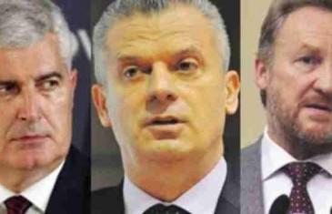 Šest ključnih tačaka bošnjačko-hrvatskog pakta: Šta će se sve dogovoriti Čović, Izetbegović i Radončić?