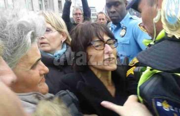 Trenutak hapšenja Florence Hartmann: Postoji ilegalan dogovor, žrtve nikada neće dobiti odštetu od Srbije… (FOTO/VIDEO)