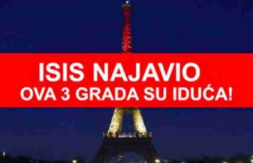 Nakon Pariza i Bruxellesa – EVO KOJA 3 GRADA SU NA REDU!