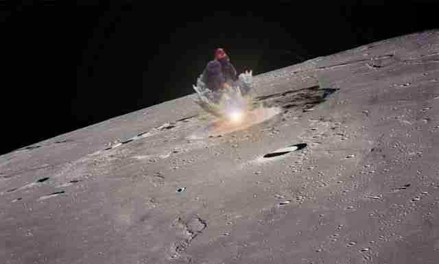VELIKA TAJNA KOJA SE KRIJE: Amerikanci su bacili atomsku bombu na vanzemaljsku bazu na Mjesecu – VIDEO