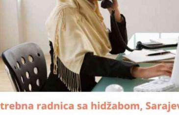 Kontra udarac VSTV-u: Traži se isključivo radnica sa hidžabom u Sarajevu!