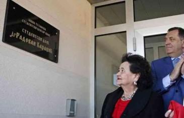 OHR je zabranio da se sarajevski aerodrom nazove po Aliji Izetbegoviću, da li će izbrisati ime Radovana Karadžića iz naziva studentskog doma na Palama?