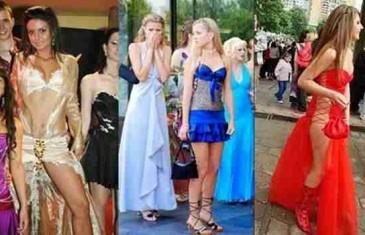 SKANDALOZNO: Pogledajte u čemu djevojke dolaze na maturu + FOTO (DNO DNA)