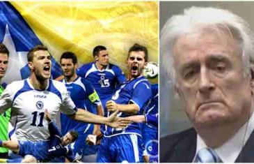 BH reprezentativci večeras zadali šamar Karadžiću kao niko do sad…