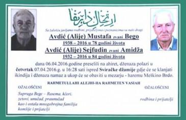 RADNIK POGREBNOG DRUŠTVA U GRADAČCU NIJE MOGAO VJEROVATI: Braća Mustafa i Sejfudin umrli u…
