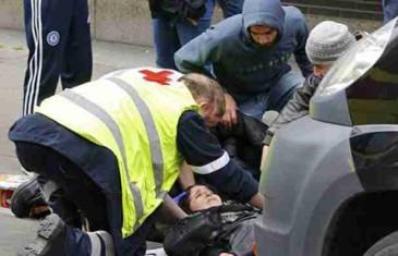 Pregazio ženu samo zato što je muslimanka (VIDEO)
