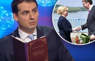 """Komičar ismijao """"romantično druženje"""" Kolinde i Vučića"""
