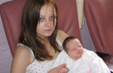 Tresa je sa samo 11 godina postala majka, ali čim ugledate oca bebe, zalediće vam se krv u žilama!