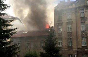 Planuo krov zgrade u Sarajevu