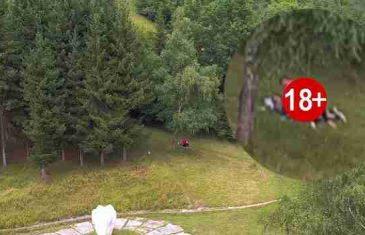 BiH: Ljubavnici uhvaćeni u akciji – Snimak dronom iz zraka