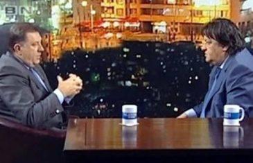Televizijski voditelj Mato Đaković zaustavio istragu protiv Milorada Dodika