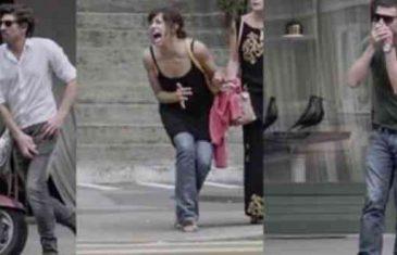 Video koji pokazuje zašto ne trebamo gledati u mobilni telefon dok hodamo ulicom!