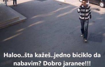 Ukrao bicikl ispred bolnice u Sarajevu