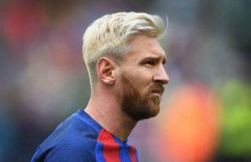 Messi otkrio zašto je kosu ofarbao u plavo