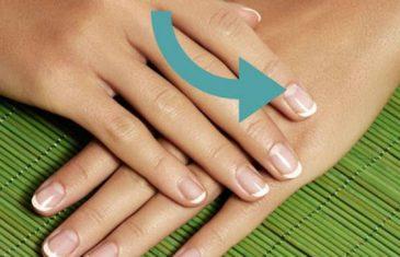 Znate li šta znači polumjesec na noktima?