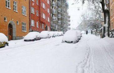 STIŽE NOVI LEDENI TALAS: Snijeg prvog dana proljeća! NIŠTA NE PAKUJTE ZIMSKU GARDEROBU!