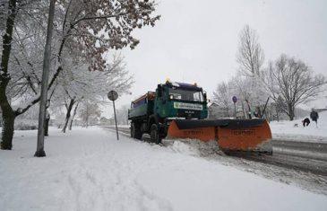 Narednih dana oblačno vrijeme, u subotu bez snijega