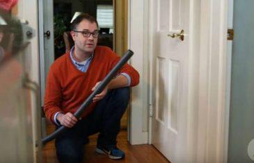 Spriječite da hladan vazduh prolazi ispod vrata: Trik koji čuva toplotu!