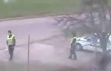 (VIDEO ZAPALIO DRUŠTVENE MREŽE) EVO ŠTA RADI BALKANSKA POLICIJA NA RADNOM ZADATKU NEĆETE VJEROVATI!