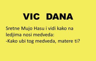 VIC DANA: Kad Mujo vikne BUUU….