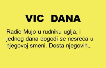 VIC DANA: Gdje je Mujo kada se dijele pare?