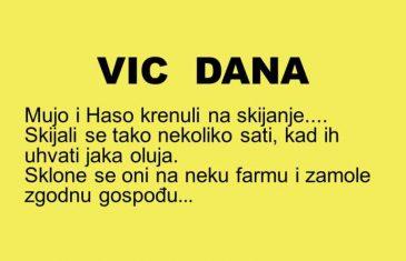 VIC DANA: Mujo i Haso krenuli na skijanje….