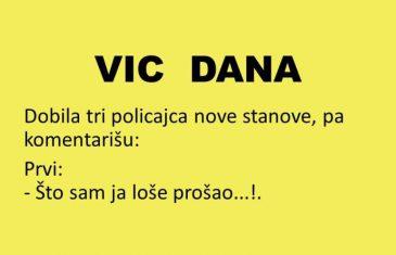 VIC DANA: Kad policajci dobiju stanove..