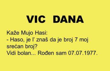 VIC DANA: 7 Mujin srećan broj